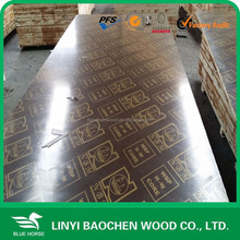 plywood scrap /shipped to Vietnam market wooden formwork for constrctiion / Combi core / 25mm brown film