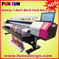 Discount price for Galaxy 1440dpi eco solvent 1.8 format vinyl sticker plotter (one or two dx5 head )