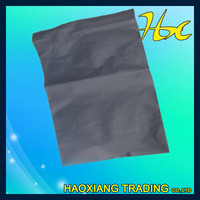 LDPE white grey film postal mailing self adhesive plastic bag