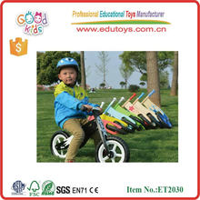EN71 Passed Factory Wholesale 12 inch Plywood Balance Bike Children's Toy in 2015