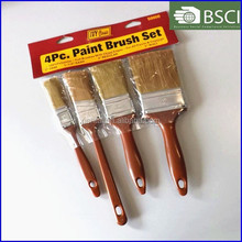 50000-SHSY1203149 diy soft paint brush set with PET filament and plastic handle