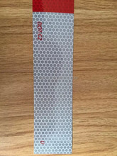 """Canada DOT-C2 Car retro reflective conspicuity tape 6"""" white/red"""