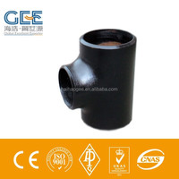 """10""""x6"""" TEE, REDUCING S/40, ASTM A-234 GR WPB"""