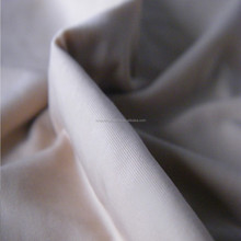 The silkly nylon elastic single jersey weft fabric for lingerie