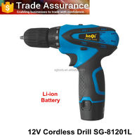 KAQI professional power tools 12V cordless drill battery