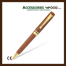 Luxury wooden pen with logo engraved for Business men and women