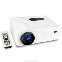 China best selling Native 720P resolution 1080P 3D support HD led toy projector with 3000lumens