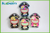 OEM cartoon pirate rocks Silicone phone cases&covers for iphone