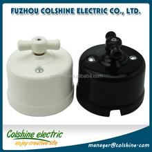 Retro porcelain light switch 10A 250V