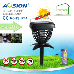 Shenzhen Aosion Solar Powered Electric Mosquito Killer Lamp/Fly Trap