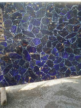 semiprecious blue stone slabs