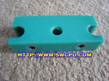 HDPE Machined Plastic Blocks Spacers