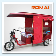 China supplier! ROMAI electric tricycle china made in China with 850W / 1000W DC motor