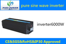 Manufacturer Direct Selling Solar Panel Inverter 6000w ,one year warranty