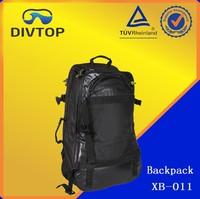 Wholesale High Quality Pvc Coated Black Waterproof Backpack