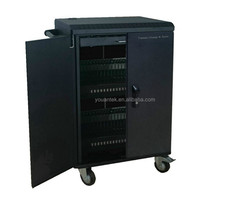 Classroom 40 Port Tablet/Ipad Learning Charge Sync Trolley/Cart/Cabinet