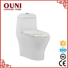 Hot selling bathroom toilet/ one piece wc toilet / elegant bathrooms toilet