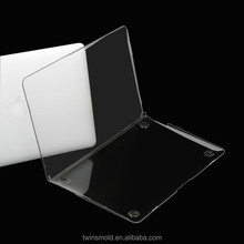 Hard tranparent for new macbook case,crystal for macbook air case