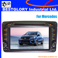 7 inch touch screen Car DVD Player with BT/DVD for Mercedes