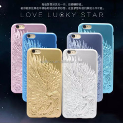 Shenzhen supplier latest luxuy angel soft tpu case cover for apple iphone 6 4.7 inch