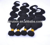 natural human hair virgin Peruvian human hair extensions body wave hair