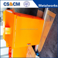 high precision and high quality electrical metal box with lock