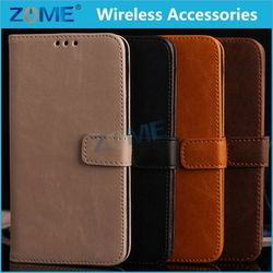 Lifelong Warranty Leather Case For Samsung S5 Customized Phone Cases