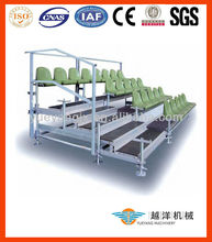 Scaffolding Retractable Grandstand Seating System For Event Design