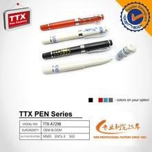 Multicolor Cheap Logo printable plastic ball point pen