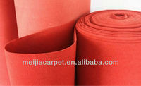 High Quality 100% Polyester needle punched nonwoven roll carpet ,car carpet in roll