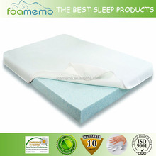 King Size Bed Memory Foam Mattress Pad Topper Cover Comfort Back Sleep Bedroom
