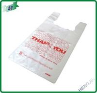 Manufacture Vest Biodegradable Plastic Bag, Customized Designs and Logos are Welcome