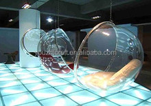 2015 latest cheap clear acrylic hanging bubble chair
