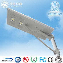 20w 40w 60w China new product solar led street light, led street light & solar panel all in one, IP65 solar led street light