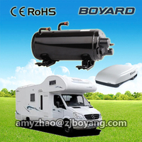 hvac aircon kits comp for rv camping car caranvan roof top mounted travelling truck ac