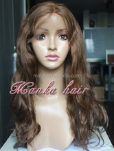 Gray Hair Full Lace Wig Fast Delivery