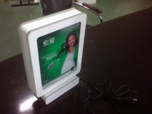 New products 2016 LED acrylic retail floor display stand for publicity agent