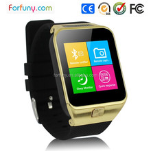 T-Flash card supported 2015 China golden housing mobile phone watch