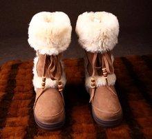 GX0903 Sheepskin Fur Boot