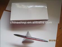 Advertising steel barrel office metal table pen set