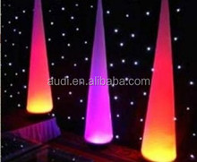 LED Colour changing inflatable cone party balloon