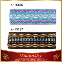 Jacquard pattern knit elastic band waistband sewing elastic