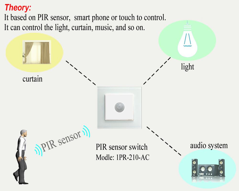 pir light sensor instructions