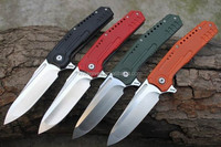 OEM design AUS-8 ATS34 VG-10 CPM440V high carbon stainless steel handcrafted handmade folding pocket knife