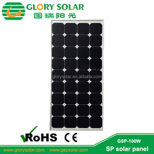 sunpower solar cell 100 Watt monocrystalline solar panel