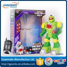 Télécommande robot de tir jouets rc robot de lutte contre jouets enfants robot jouet