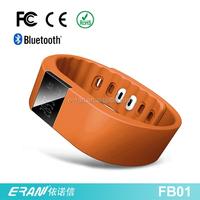E-ran Good quality cheap smart health bluetooth bracelet, bluetooth health wristband