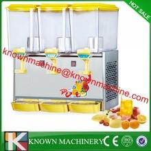 Summer hot sale commerical automatic three tank orange juice dispenser