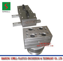 High speed PVC wire duct trunking extrusion mould / Die tool