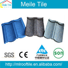 building materials classical bond roof cheap price roof tile stone coated metal roof tile